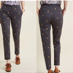 ModCloth Legendary Lifestyle Pants in Grey Bee